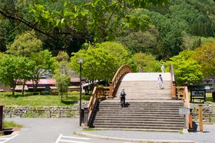 奈良井木曽の大橋の写真素材 [FYI03318759]
