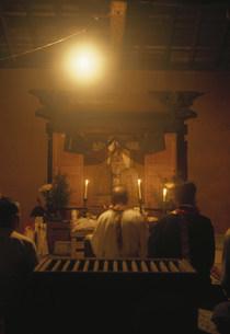 大護摩法要 女人禁制の霊山の写真素材 [FYI03319128]