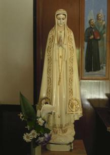 マリア聖堂のマリア像の写真素材 [FYI03319276]