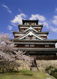 広島城天守閣の東面の写真素材 [FYI03319357]