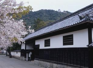 香川家長屋門の写真素材 [FYI03319641]