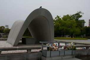 原爆死没者慰霊碑の写真素材 [FYI03319805]