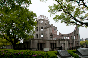 原爆ドームの写真素材 [FYI03319809]