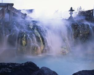 草津温泉 湯畑の写真素材 [FYI03319888]