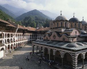 リラの僧院の写真素材 [FYI03320550]