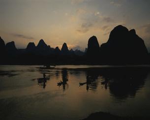 鵜飼漁の写真素材 [FYI03320585]