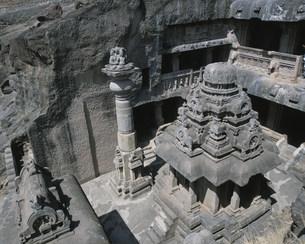 ジャイナ教石窟の写真素材 [FYI03320965]