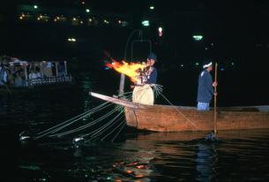 長良川の鵜飼の写真素材 [FYI03329299]