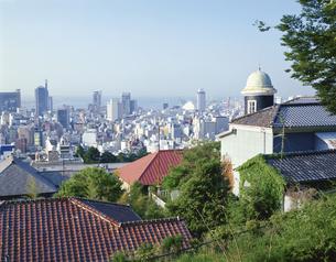 神戸市街展望 神戸市の写真素材 [FYI03330042]