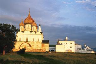 スズダリ夕景 ロシアの写真素材 [FYI03330084]
