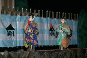 桐生カラクリ人形公演の写真素材 [FYI03332368]