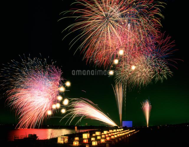 千代田の祭川施餓鬼の写真素材 [FYI03332423]