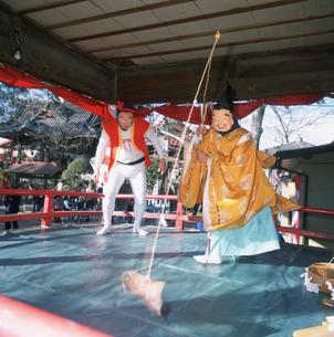 太々神楽 鯛釣りの舞の写真素材 [FYI03332556]