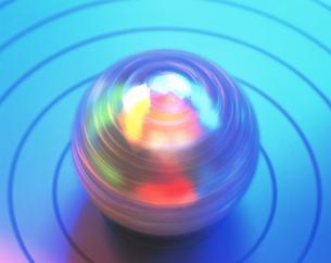 球体回転の写真素材 [FYI03332783]
