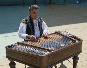 チンバル奏者の写真素材 [FYI03332815]