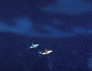 コルフ島の海と小舟の写真素材 [FYI03332967]