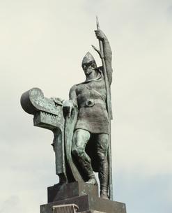最初の植民者(インゴルフ)の写真素材 [FYI03333337]