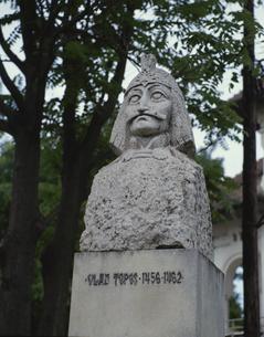 ドラキュラのモデルの像 ルーマニアの写真素材 [FYI03333539]