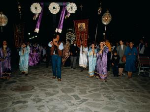 復活祭の行列の写真素材 [FYI03334108]