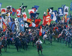 相馬野馬追い祭の写真素材 [FYI03335269]