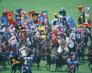 相馬野馬追い祭の写真素材 [FYI03335331]