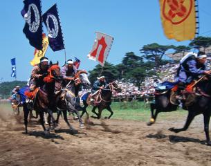 相馬野馬追い祭の写真素材 [FYI03335428]