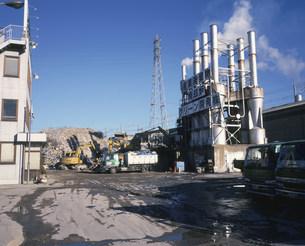 産業廃棄物焼却場の写真素材 [FYI03337694]