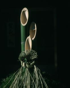 正月のイメージ 門松の写真素材 [FYI03337805]