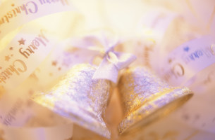 ベルのクリスマスイメージの写真素材 [FYI03338873]