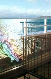 東名高速由比PAの二階から眺める駿河湾の写真素材 [FYI03338892]