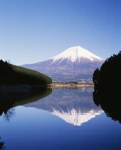 逆さ富士 田貫湖の写真素材 [FYI03339164]