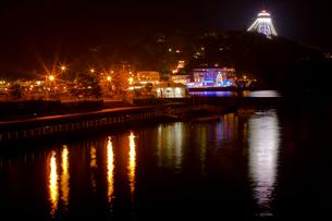 江の島ライトアップの写真素材 [FYI03339738]
