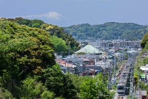 横須賀線の写真素材 [FYI03339949]