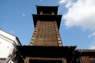古い街並 時の鐘の写真素材 [FYI03341257]
