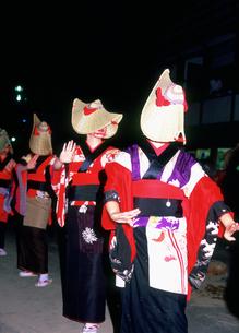 西馬音内盆踊りの写真素材 [FYI03341545]