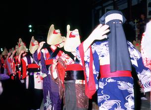 西馬音内盆踊りの写真素材 [FYI03341546]