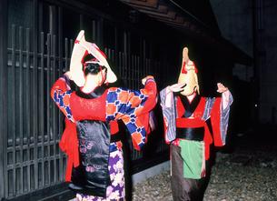 西馬音内盆踊りの写真素材 [FYI03341551]