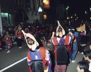 西馬音内盆踊りの写真素材 [FYI03341923]