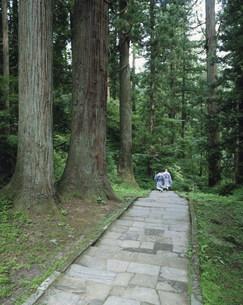 羽黒山秋の峰入り修行の写真素材 [FYI03341932]