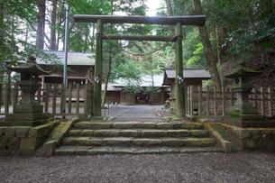 天岩戸神社 東本宮の写真素材 [FYI03342252]