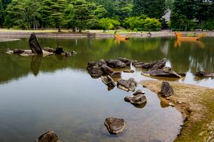 毛越寺庭園の写真素材 [FYI03343797]