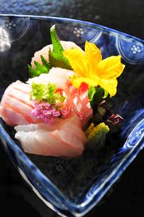 Japanese fine foods sashimi 刺身の写真素材 [FYI03344149]