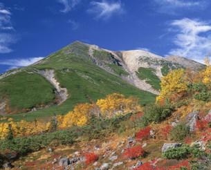 秋の乗鞍岳の写真素材 [FYI03344470]