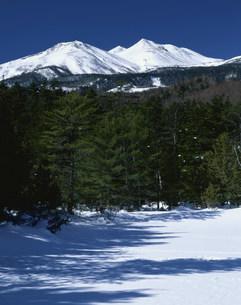 雪山乗鞍岳の写真素材 [FYI03344497]