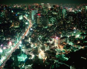 六本木ヒルズから見た夜景の写真素材 [FYI03345289]
