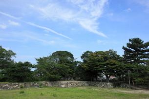 松阪城のきたい丸跡の写真素材 [FYI03345699]