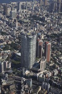 森タワーと六本木ヒルズ 東京ミッドタウンの写真素材 [FYI03346274]