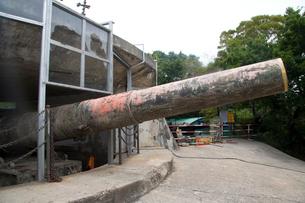 中台緊張時代の胡里山砲台の写真素材 [FYI03346301]