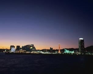 神戸港夜景の写真素材 [FYI03346376]