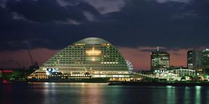 神戸港夜景の写真素材 [FYI03346389]